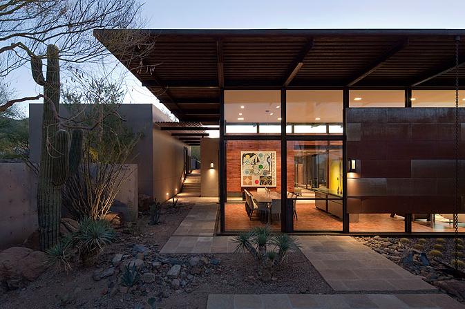 Brown Residence In Scottsdale