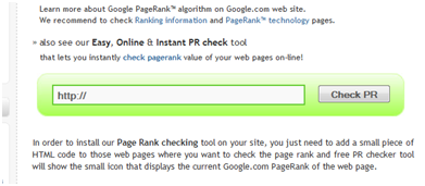 pagerank checker