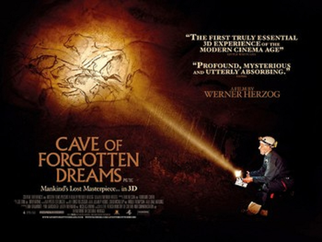 Cave of Forgotten Dreams movie poster.350w 263h One of the biggest gob smacking scenes from any movie I've even witnessed ...