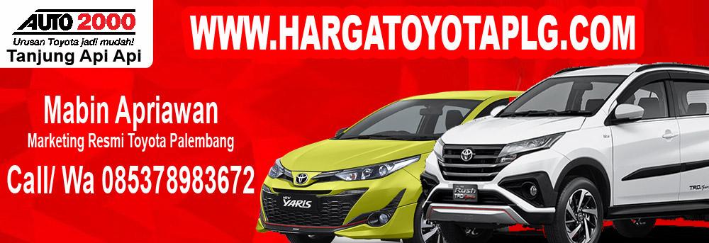Harga Toyota Palembang