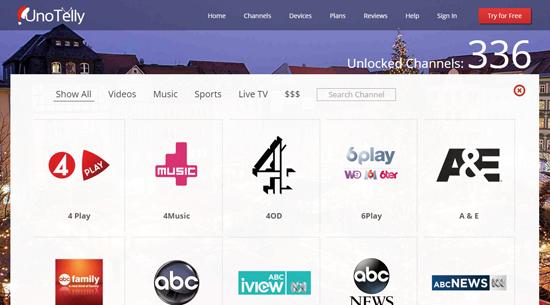 UnoTelly - Cara Menonton TV Online Streaming Percuma Tanpa Sekatan