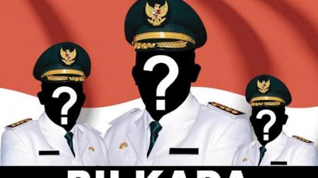 22 Kepala Daerah di Indonesia Lepas dari Status Petahana