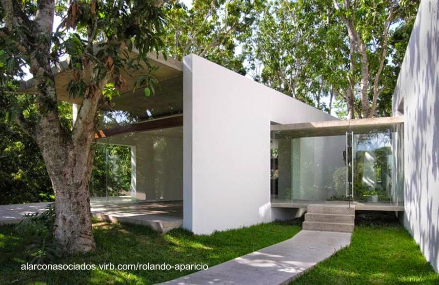 arquitectura de casas casa moderna estilo minimalista en