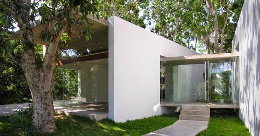 Arquitectura de casas casa moderna estilo minimalista en for Arquitectura moderna minimalista