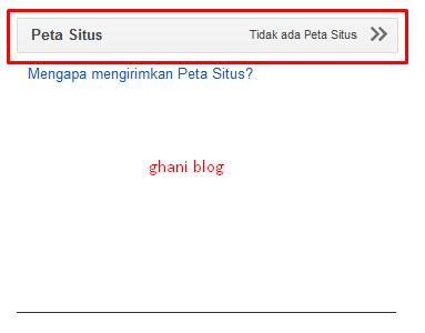 Cara Mengirimkan Sitemap atau Peta Situs ke Google Webmaster Tools