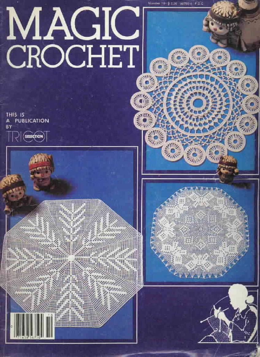 Magic Crochet : Magic Crochet No. 10 ~ Free Crochet Patterns