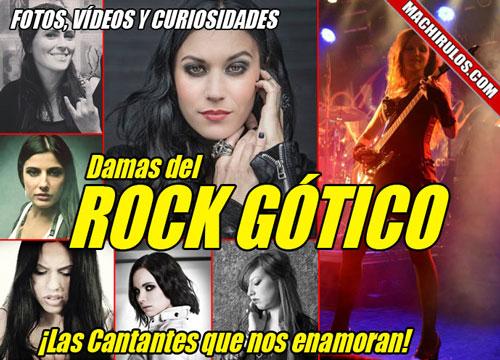 Las 10 mejores cantantes de Rock Heavy Gótico