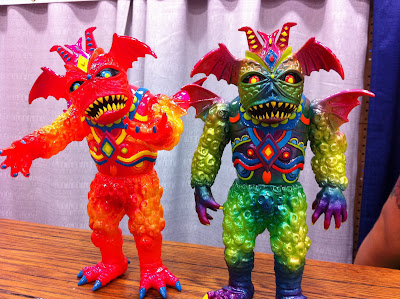 San Diego Comic-Con 2011 Exclusive Hand Painted Custom Ultrus Bog Vinyl Figures by Skinner.jpg