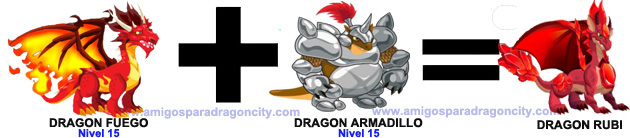 como sacar el dragon rubi en dragon city formula 2