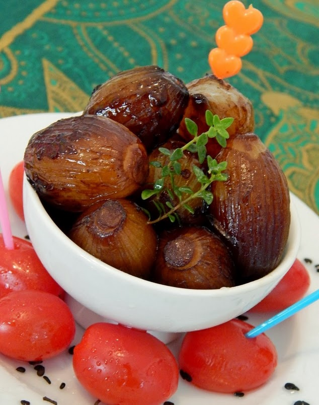 Cebolas Caramelizadas (vegana)