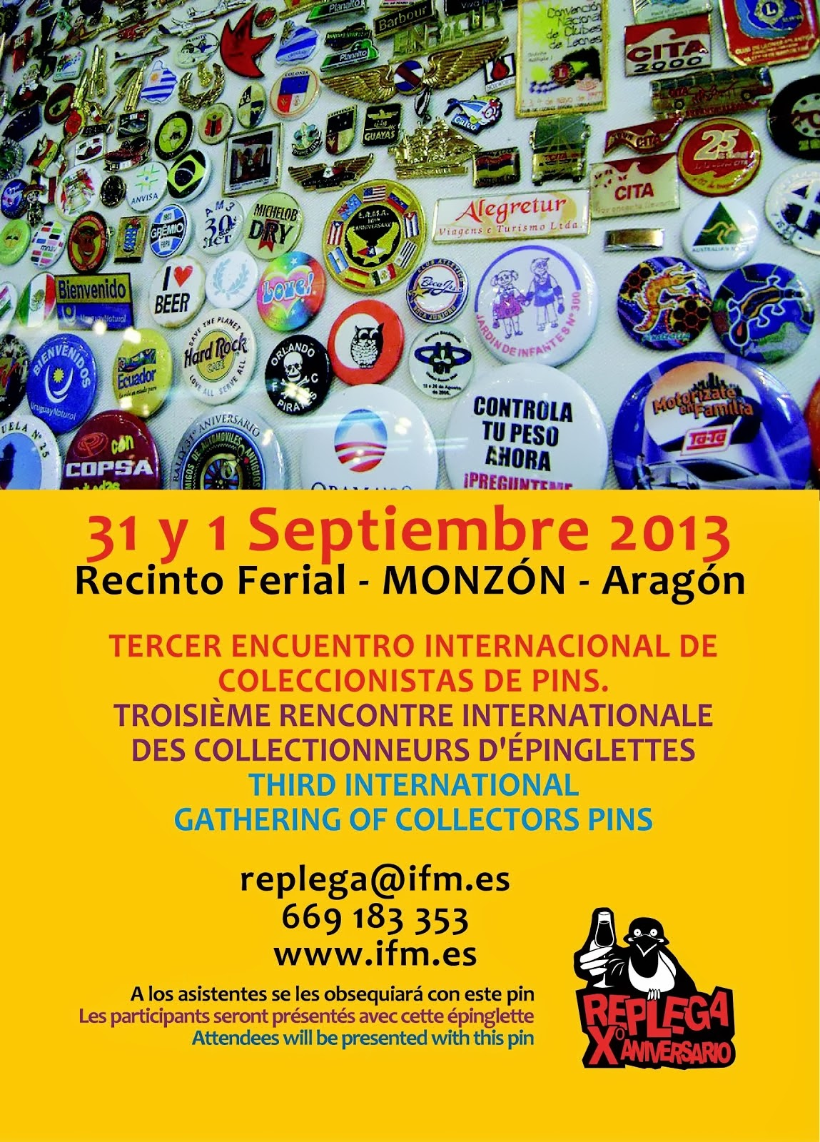 Intercambios de Pins!