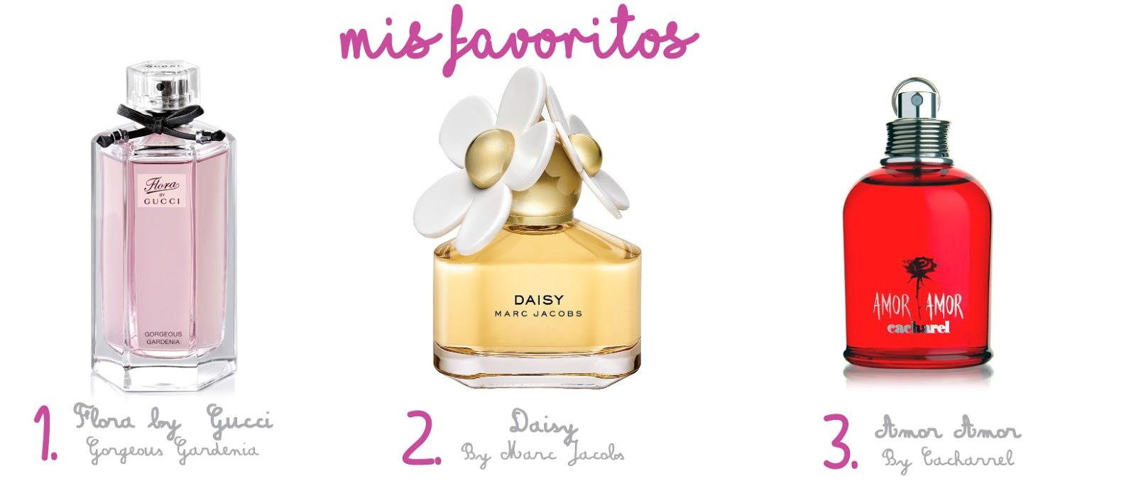 perfumes florales frutales