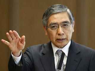 """Haruhiko Kuroda: """"Precisamos garantir que a inflação de 2% esteja firmemente ancorada na mente do público e que as pessoas ajam com base na assunção de que os preços vão subir 2%"""""""
