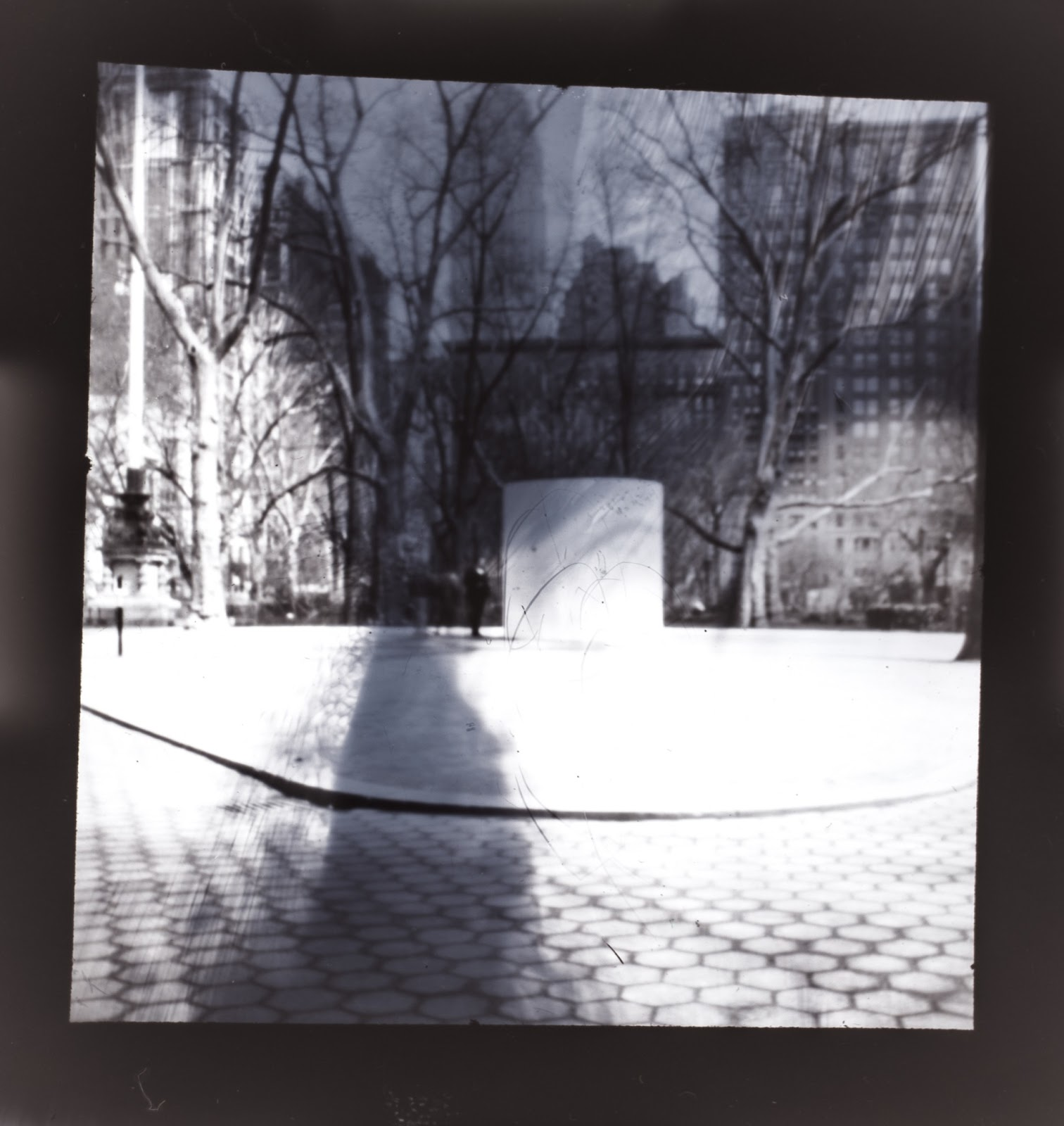 A Pinhole Photograph After Being Converted From Negative To Positive Using Lightroom 4