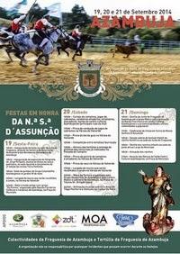 Azambuja- Festas em Hª de Nª Srª D`Assunção 2014- 19 a 21 Setembro