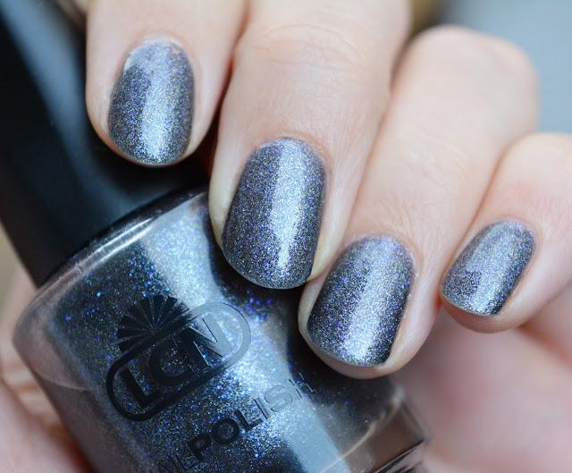 [Nagellack] LCN - dark angel royal blue