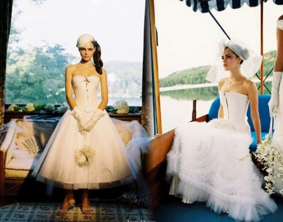corset wedding dresses by Joan Shum