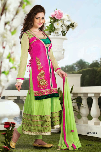 Buy Latest Stylish Anarkali Suit Online