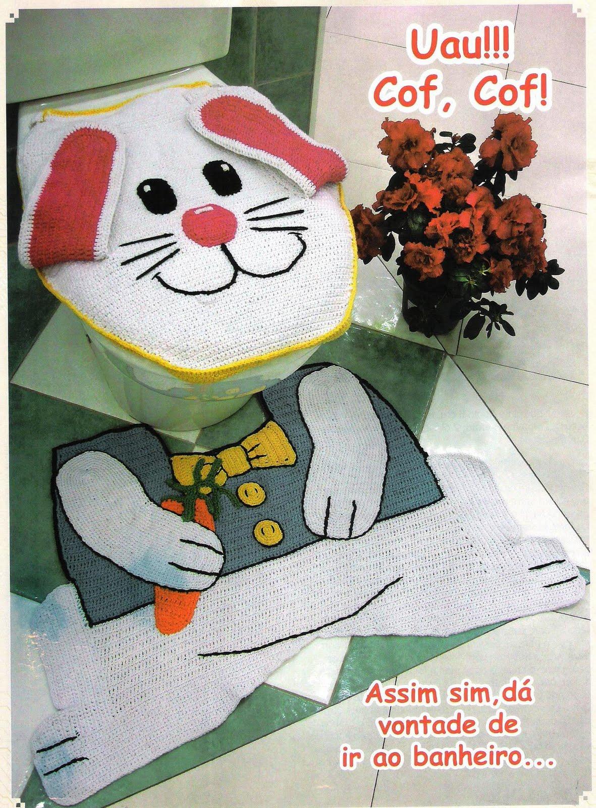 Gazebo das Artes: Jogo de banheiro #9F392C 1181x1600 Banheiro Adequado Para O Gato