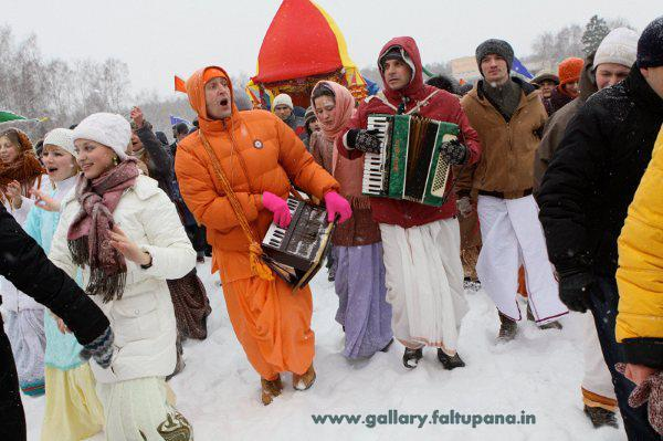 Hinduism Becoming Popular In Russia Gallery