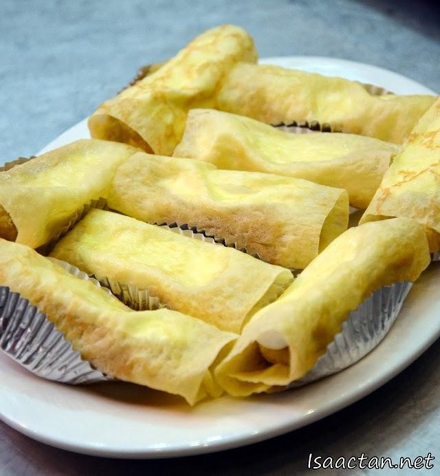 #4 Durian Pancake - RM18.00/ 6pcs, RM2.50/ 1pc