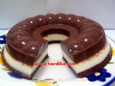 Cara Membuat Kue Puding Coklat dan Resep Puding Coklat. Panduan Cara ...