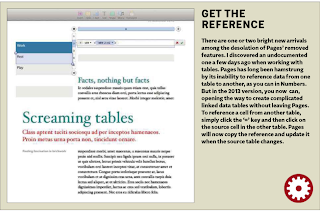 Pulling power.  It's now possible to pull data from one Pages table into another