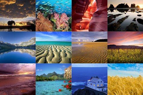 Los colores de nuestro planeta VI (12 paisajes)