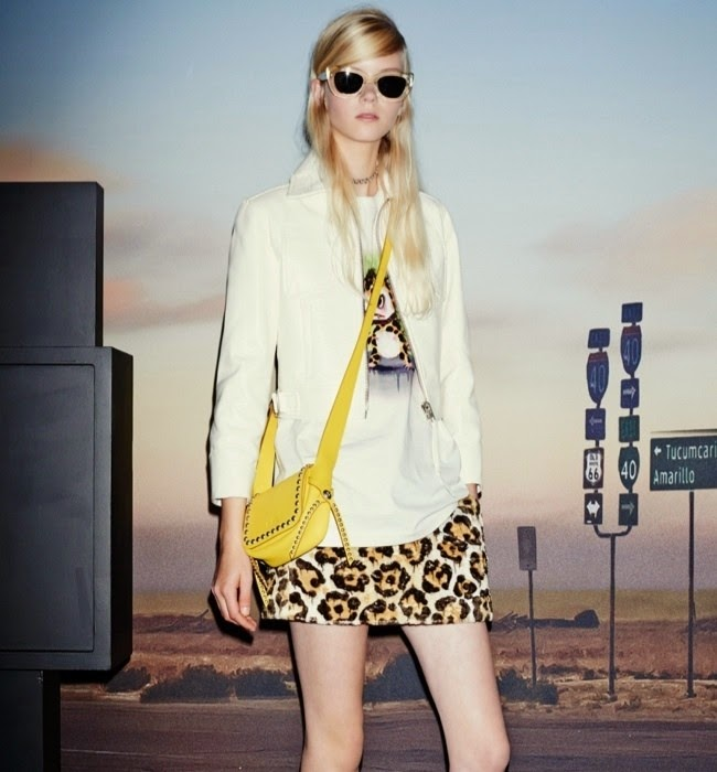 Coach presents a 70s inspired pastel Spring/Summer 2015 Collection