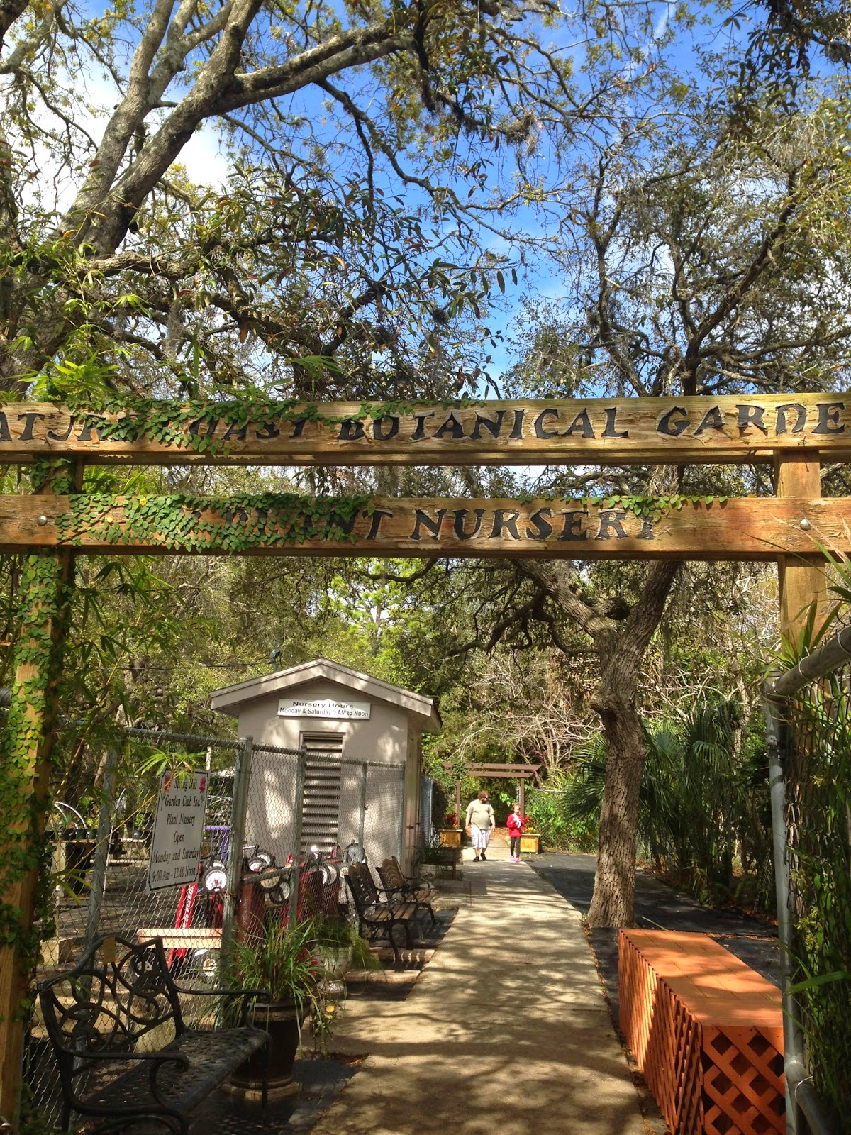 The Botanical Gardens in Spring Hill Florida