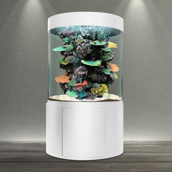 bacmarin les aquariums cylindriques. Black Bedroom Furniture Sets. Home Design Ideas