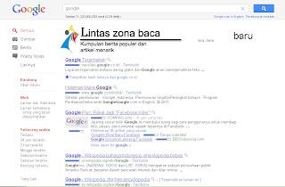tampilan baru google