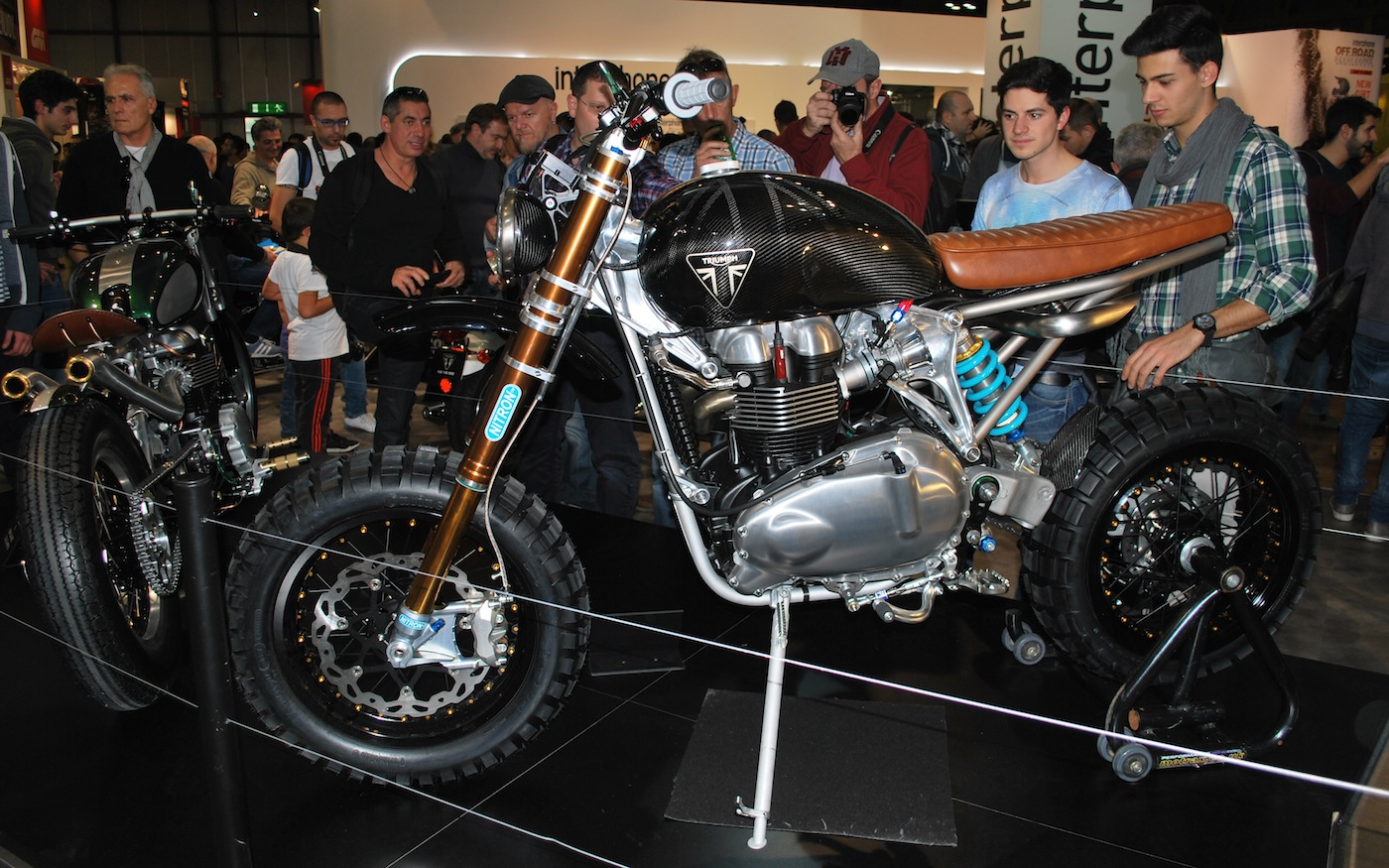 Eicma 2014 overview 2 inazuma caf racer for Garage ad buc
