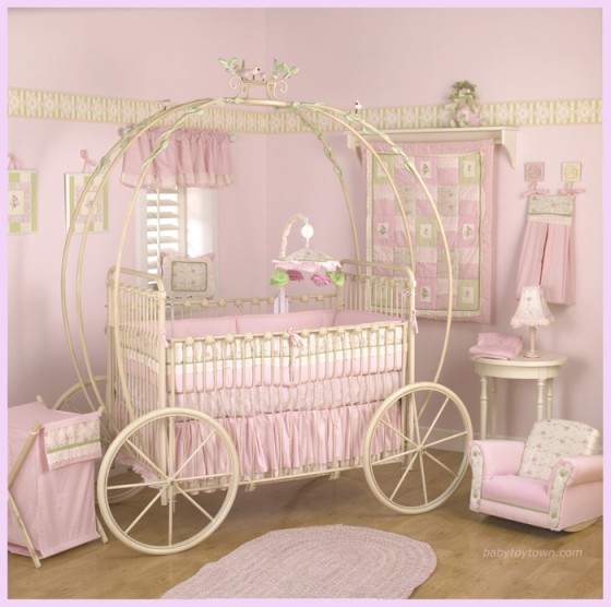 I Heart Pears: Cinderella Carriage Cribs