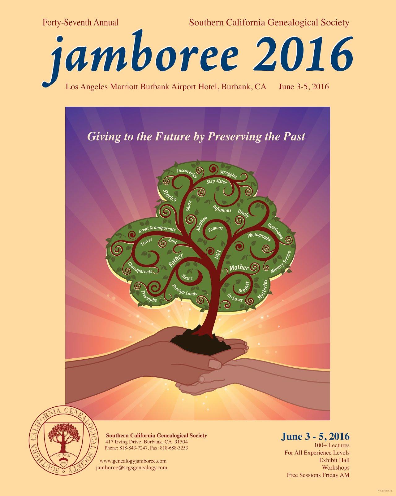 Genealogy Jamboree 2016