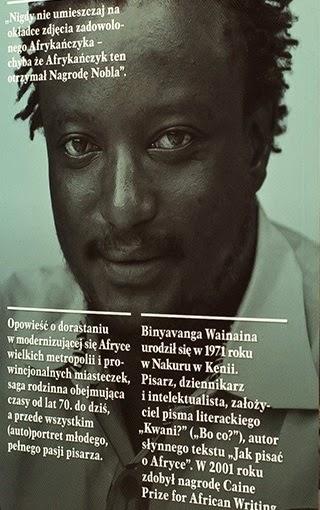 Binyavanga Wainaina, Kiedyś o tym miejscu napiszę, Okres ochronny na czarownice, Carmaniola