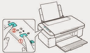 how to clean nozzles on epson nx420 printer