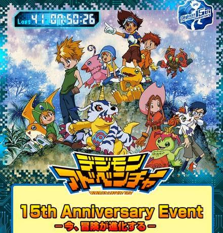 Anime Jepang Adventure Acara Digimon 15th Anniversary Diselenggarakan