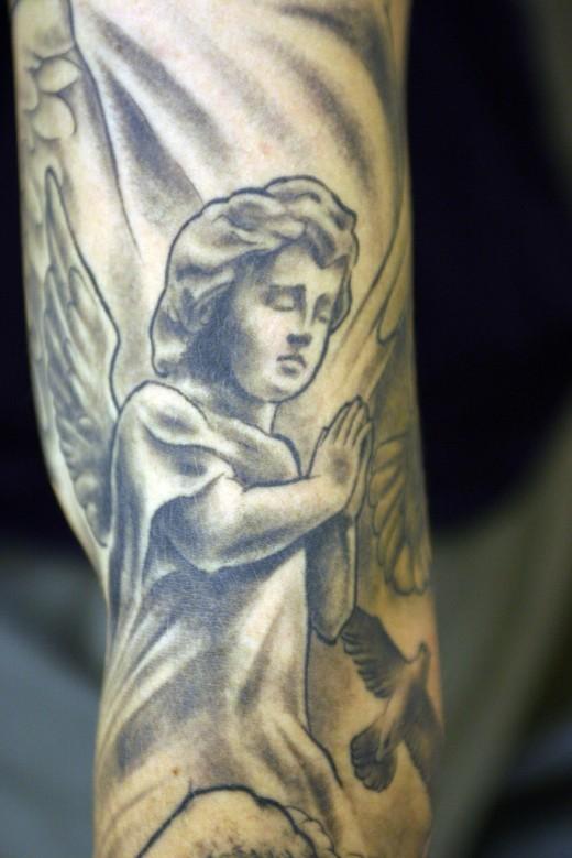 Tattoo Cherub Designs