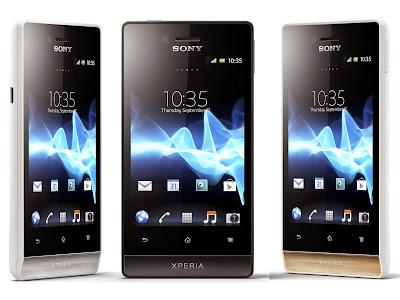 Sony Xperia miro Sony ST23i,Sony ST23a