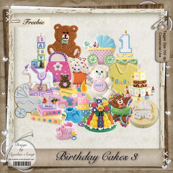 BIRTHDAY CAKES 3 TAGGER SIZE - CU Cajoline_birthdaycakes3_cu