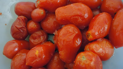 thawed roma tomatoes