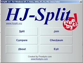 Cara Mudah Menggunakan Software HJSplit