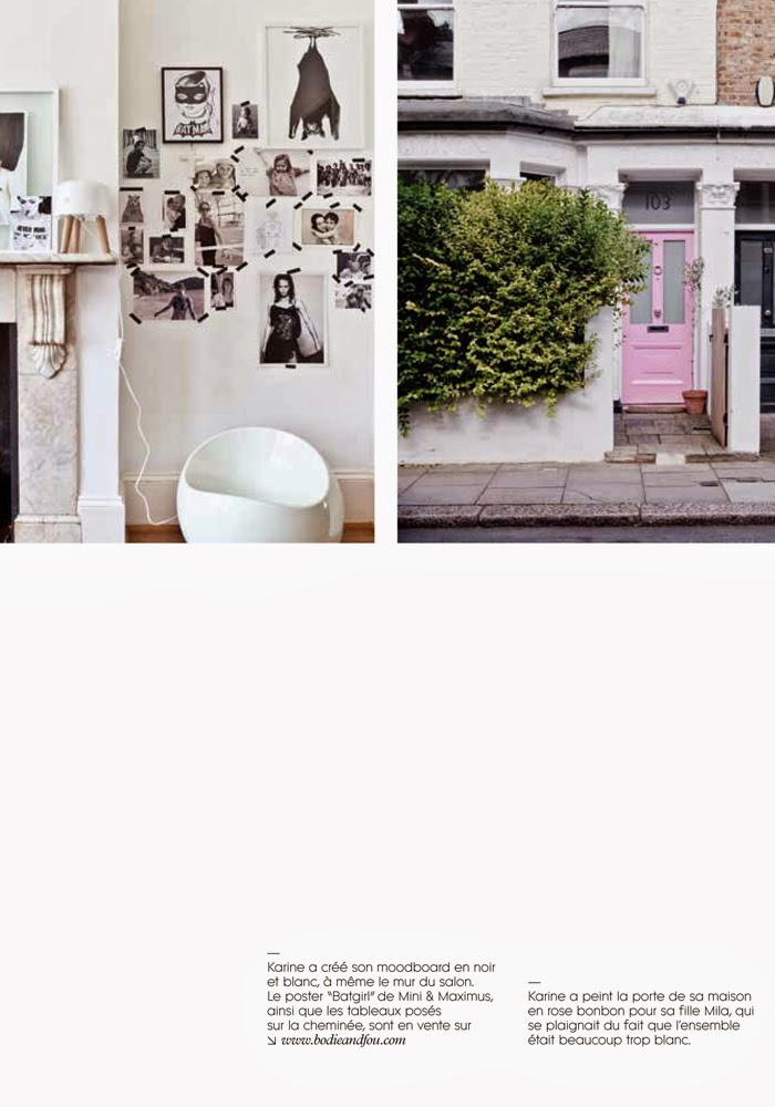 Home of BODIE and FOU's Founder Karine Kong in MILK magazine