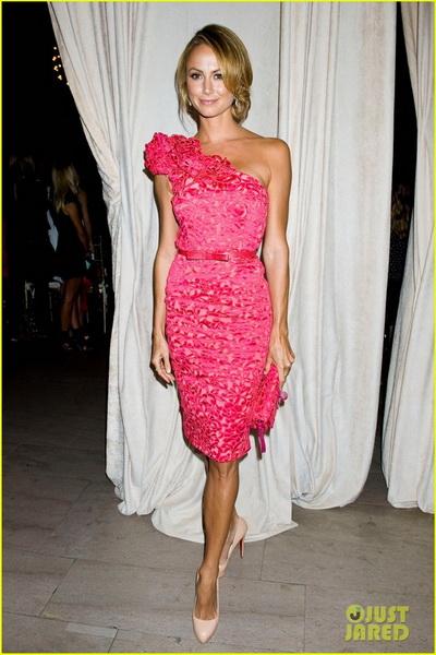 robe de cocktail rose magnifique