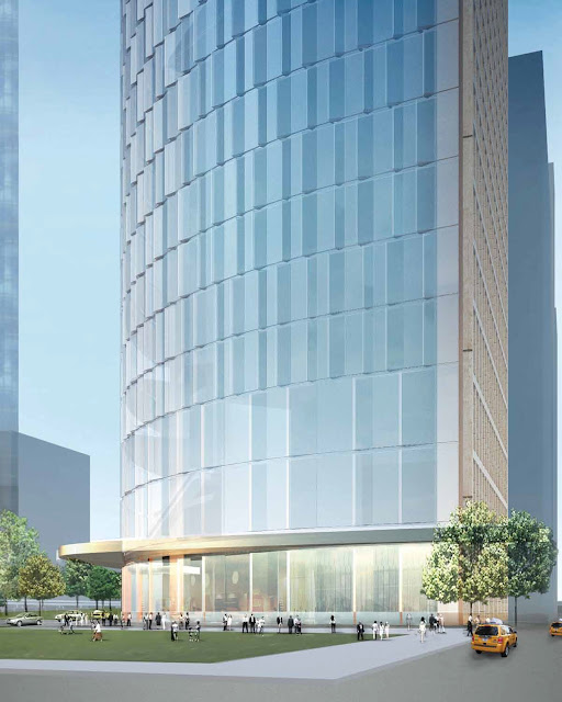 Photo of proposed residential tower