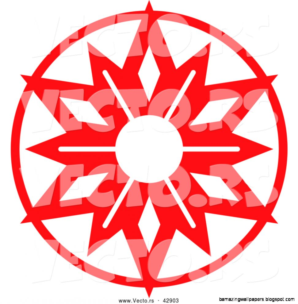 Red Snowflake Clipart  Clipart Panda   Free Clipart Images