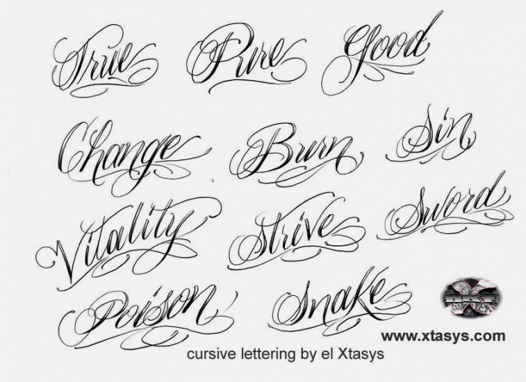 Name Tattoos Design