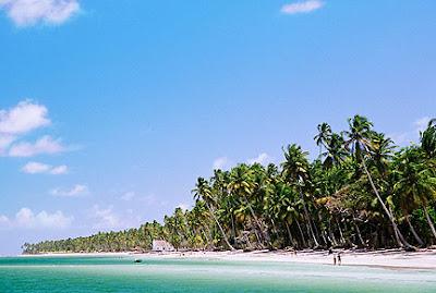 Imagens da Praia dos Carneiros