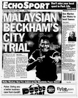 Safee Sali Dipanggil 'David Beckham' Malaysia Di UK !